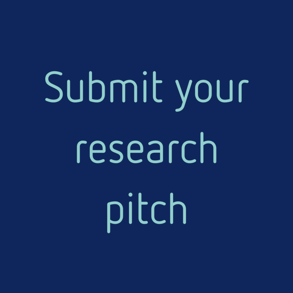 Button - Submit your research pitch