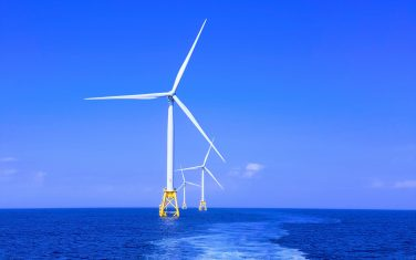 ISPT Theme Electrification - Wind turbines on sea - ©Shaun Dakin