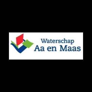 Partner logo - Waterschap Aa en Maas