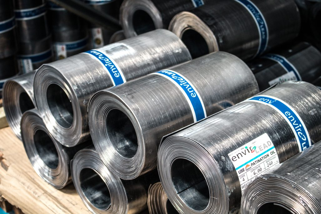 Steel2Chemical - Rolls of steel materials