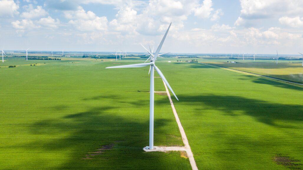 Sustainable industry-Wind turbine